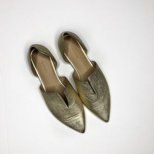 VINCE Darlington Gold Flats